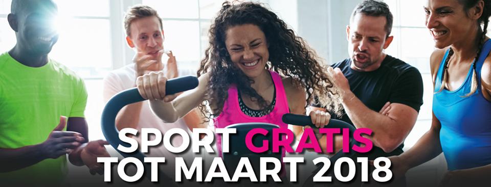 Sport GRATIS tot maart 2018